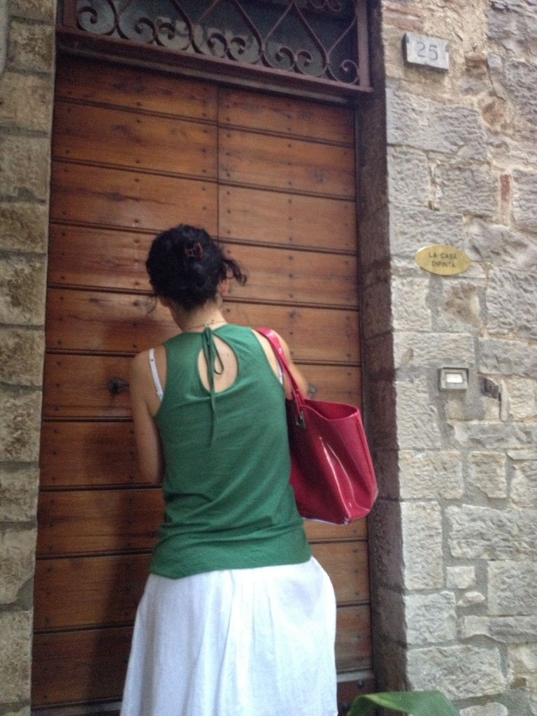 Unlocking La Casa Dipinta - Todi, Italy