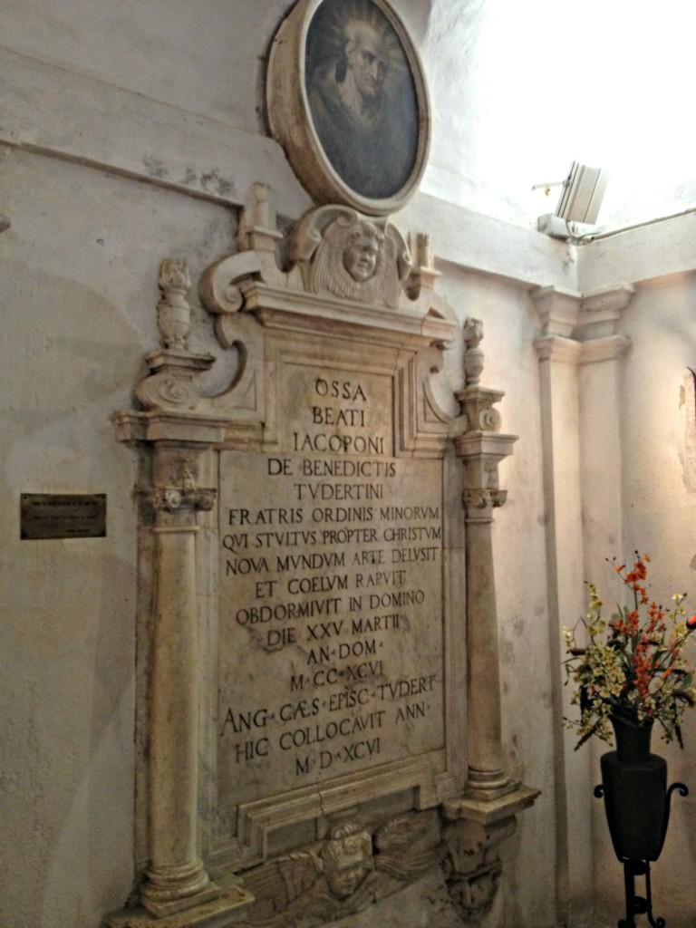 Crypt San Fortunato - Todi, Italy