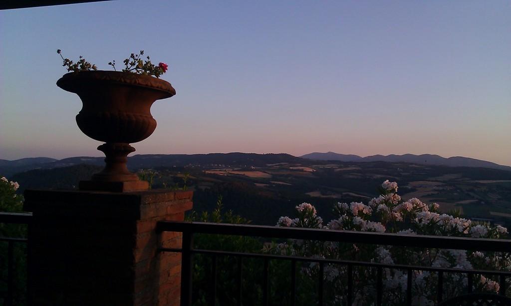 Todi - Hotel Bramante - Sunset