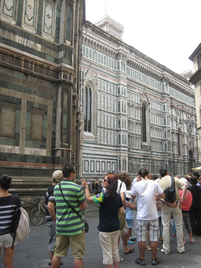 Lines at the Duomo - Walking Tour of Florence, Italy