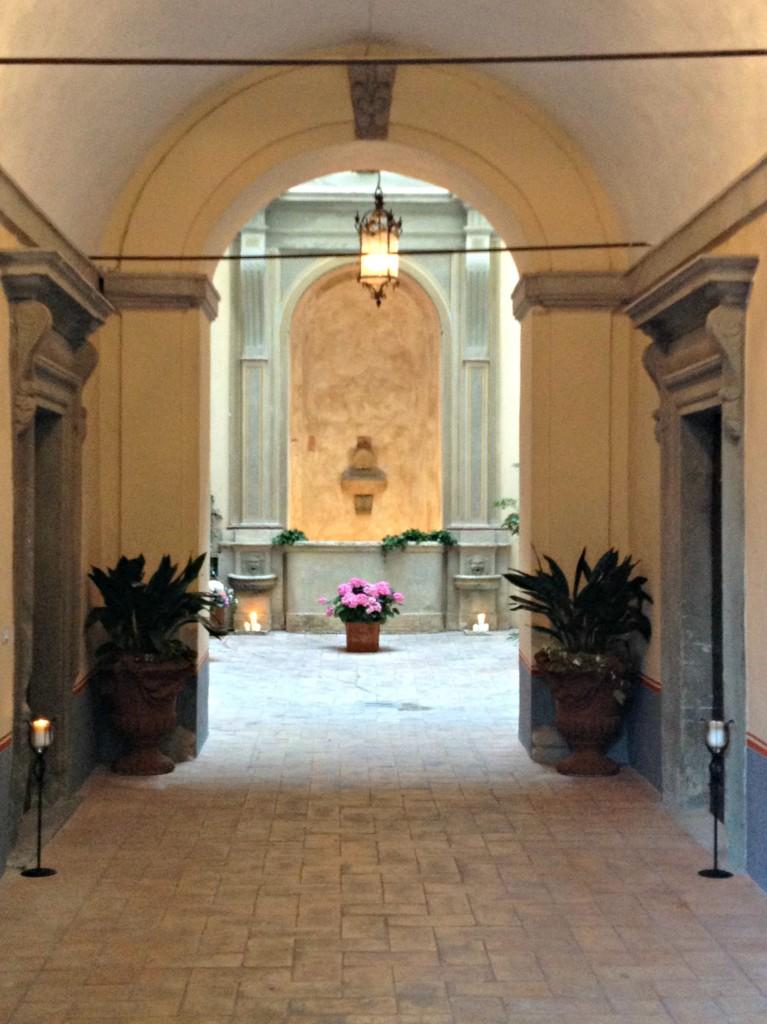 Main Entrance of Palazzo Pongelli - Todi, Italy