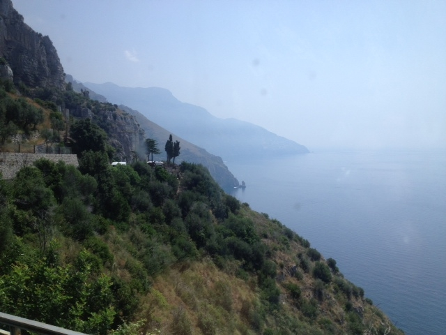 Rome to Amalfi Coast - View from Bus