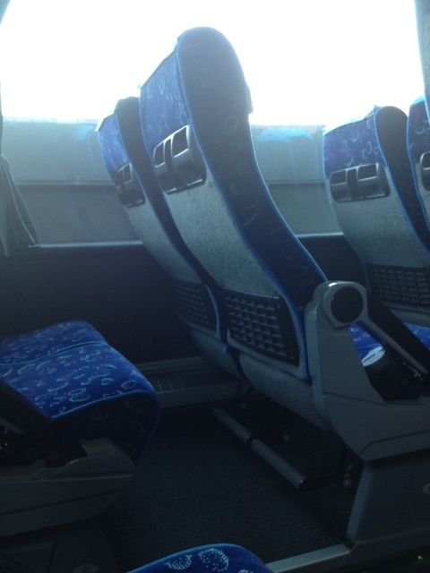 Rome to Amalfi Coast - Seats
