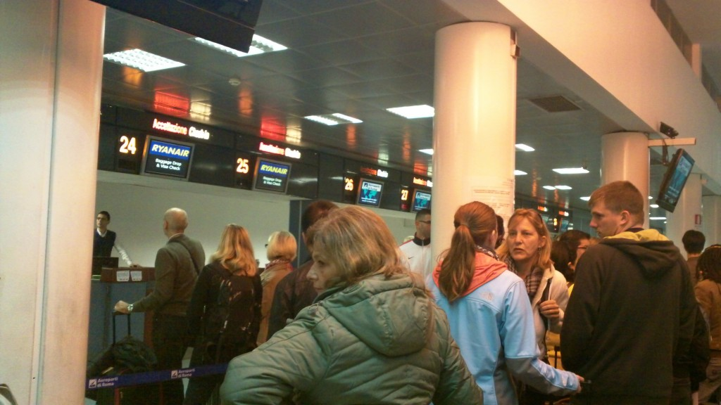 Getting to Rome - Ciampino Airport
