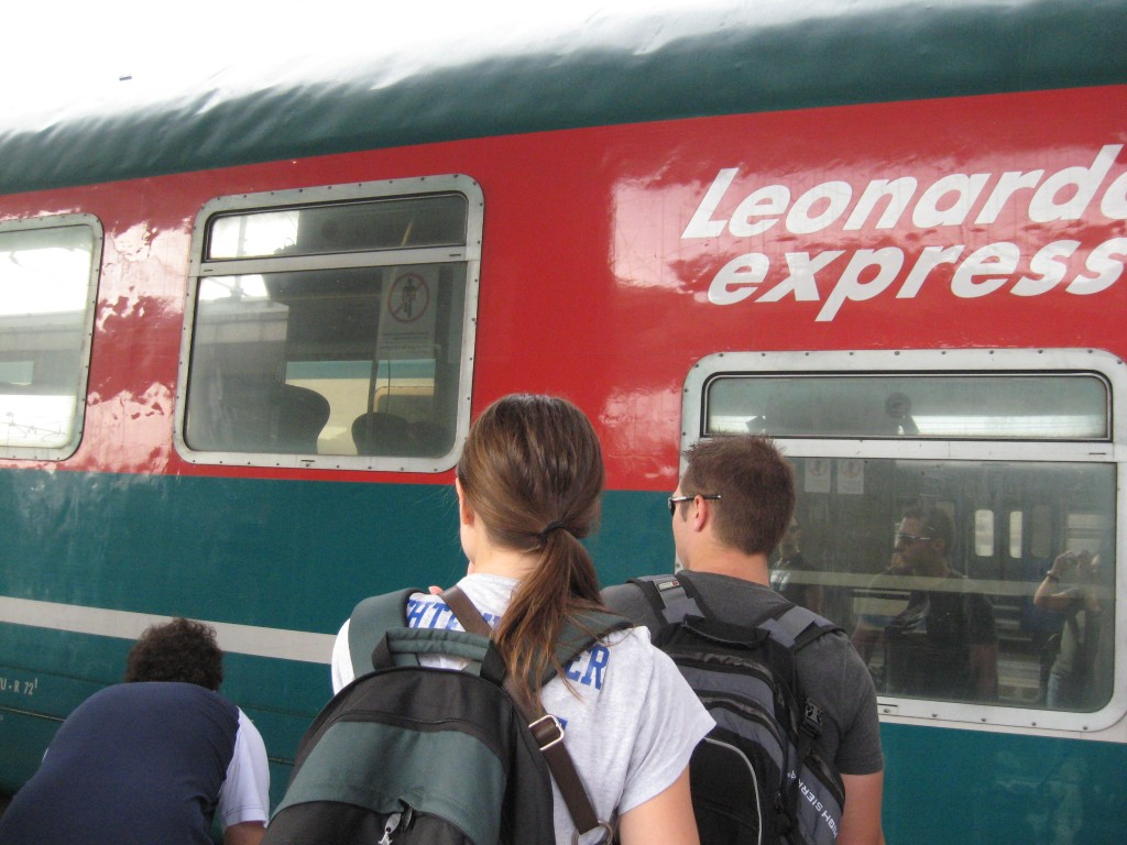Getting to Rome - Leonardo Express from Fiumicino Airport