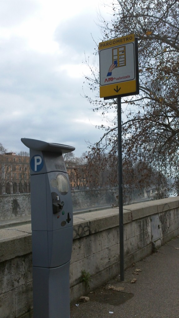 Getting to Rome - Parking Meter