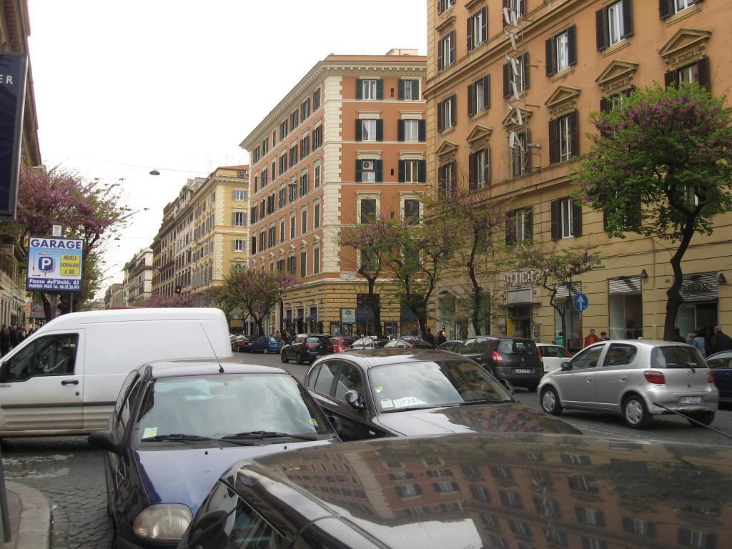 Getting to Rome - Parking is challenging