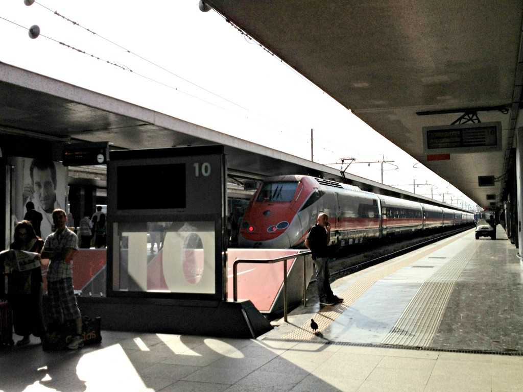 Getting to Rome by Train - FrecciaRossa