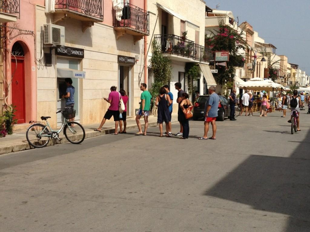 San Vito Lo Capo, Sicily - ATM lines