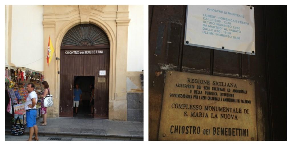 Monreale, Sicily - Cloister Entrance