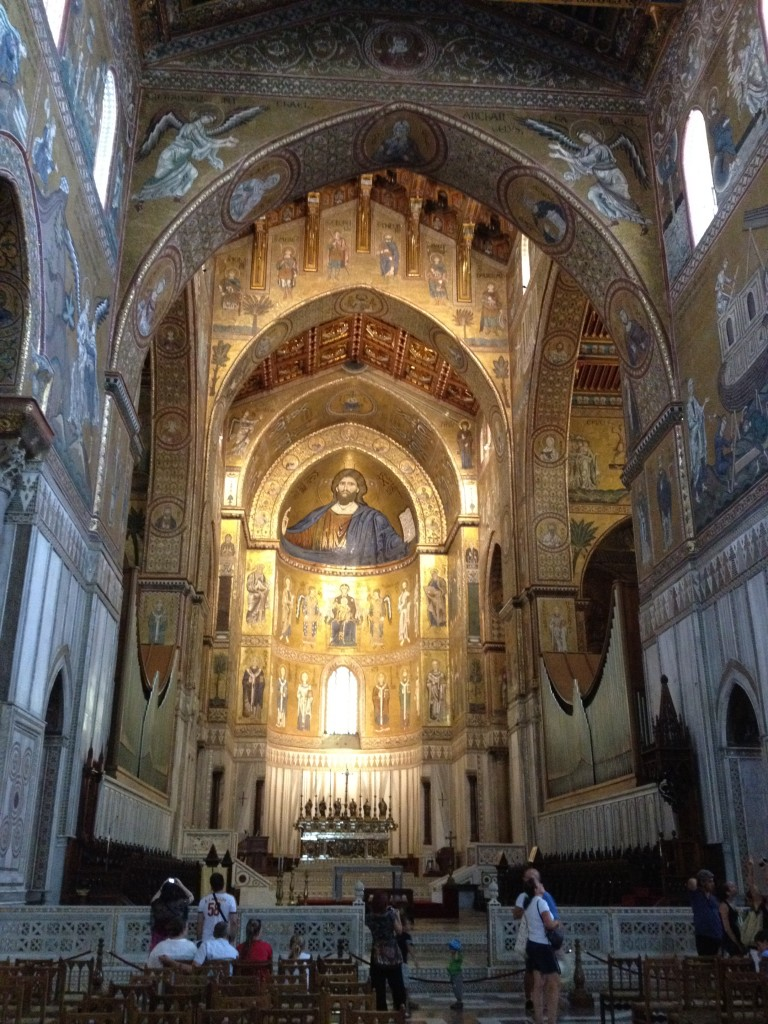 Monreale Sicily - Inside Cathedral