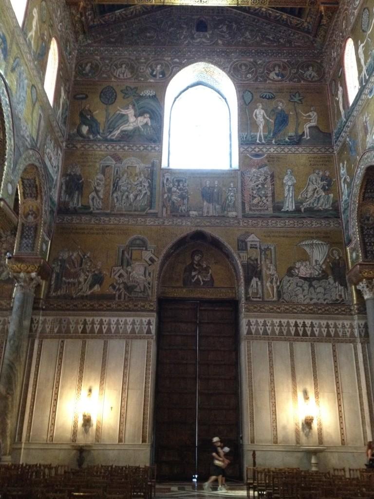 Monreale Sicily - Interior Scenes