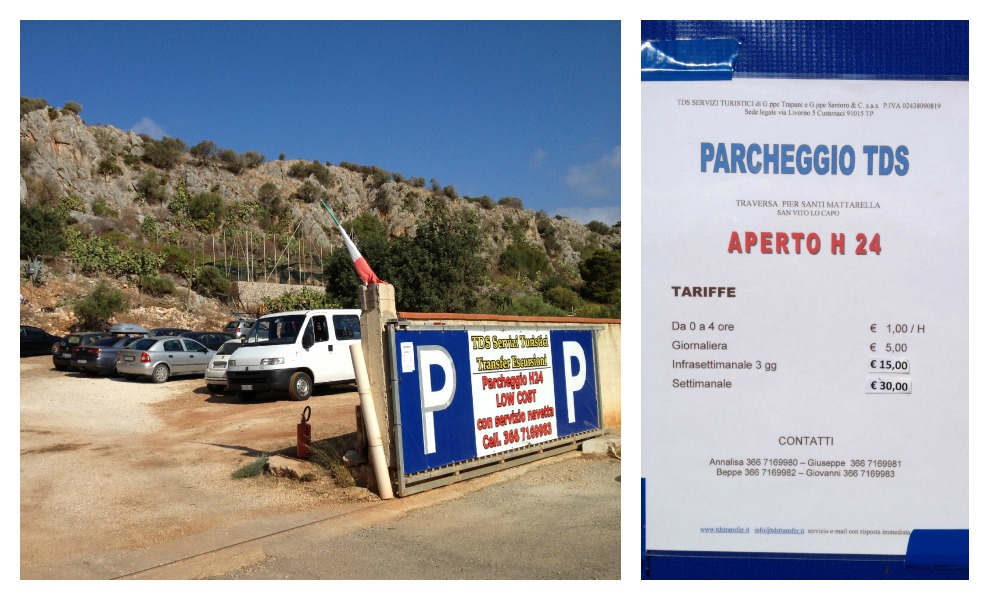 San Vito Lo Capo - Parking