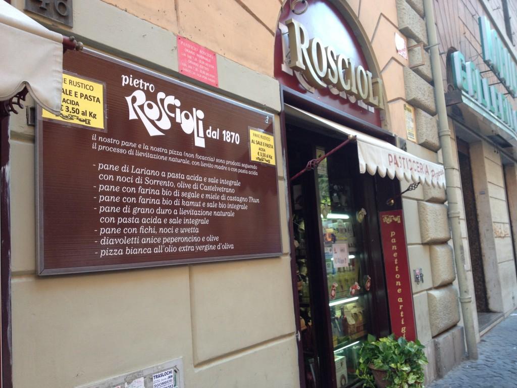Esquilino Rome - Roscioli