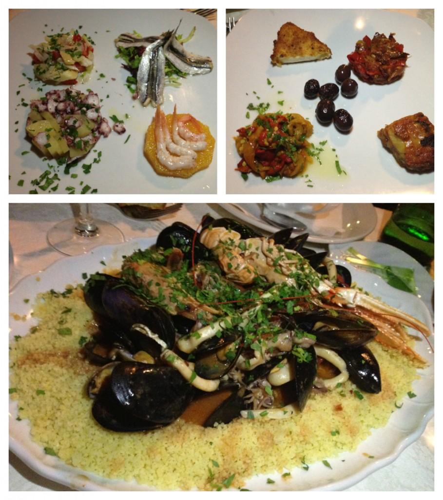Sicilian Food - Al Saraceno Taormina