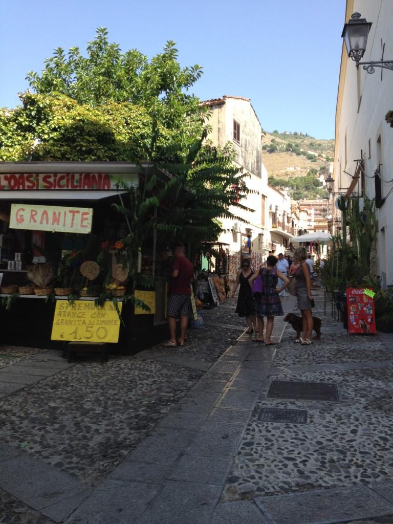 Monreale Sicily Street