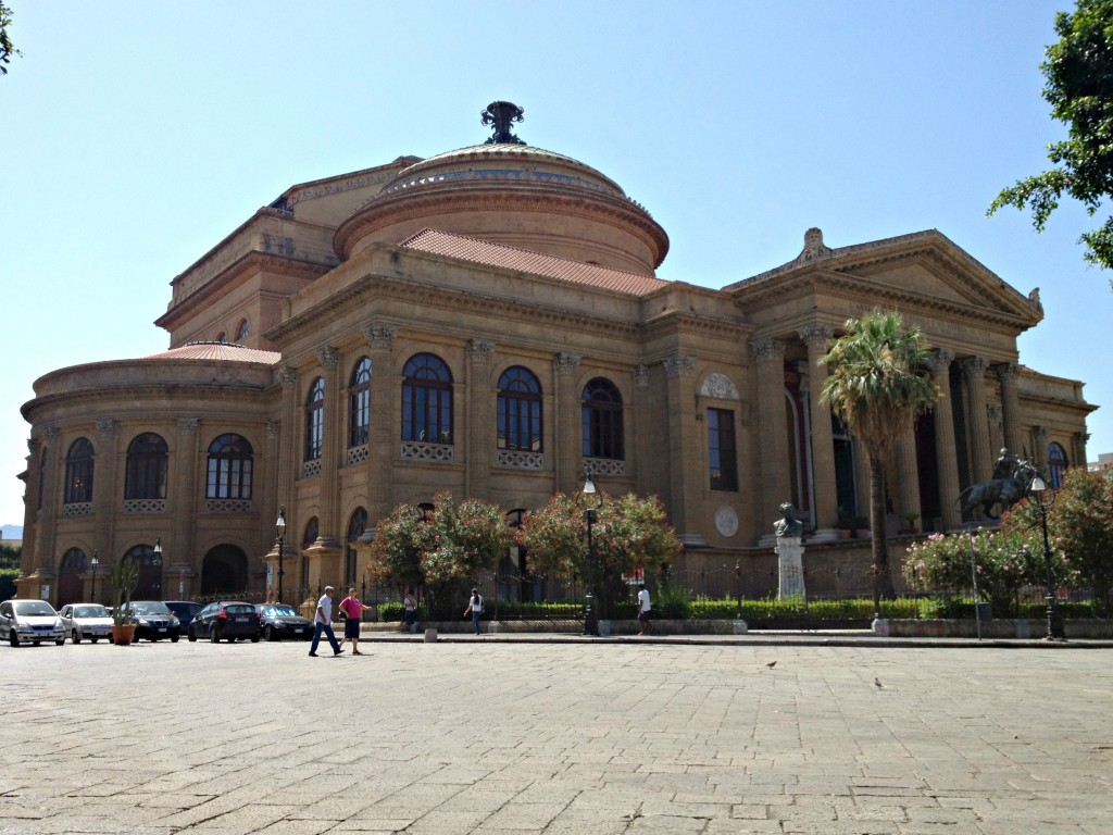 Things to do in Palermo - Teatro Massimo