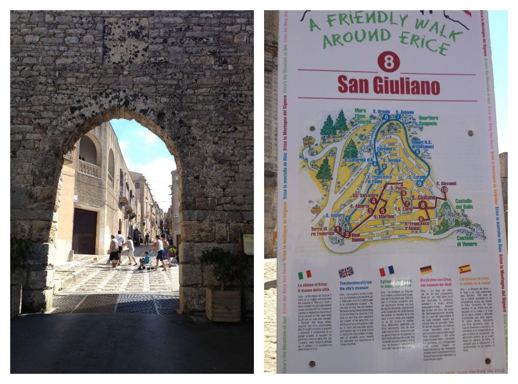 Traveling Sicily - Erice - Porta Trapani