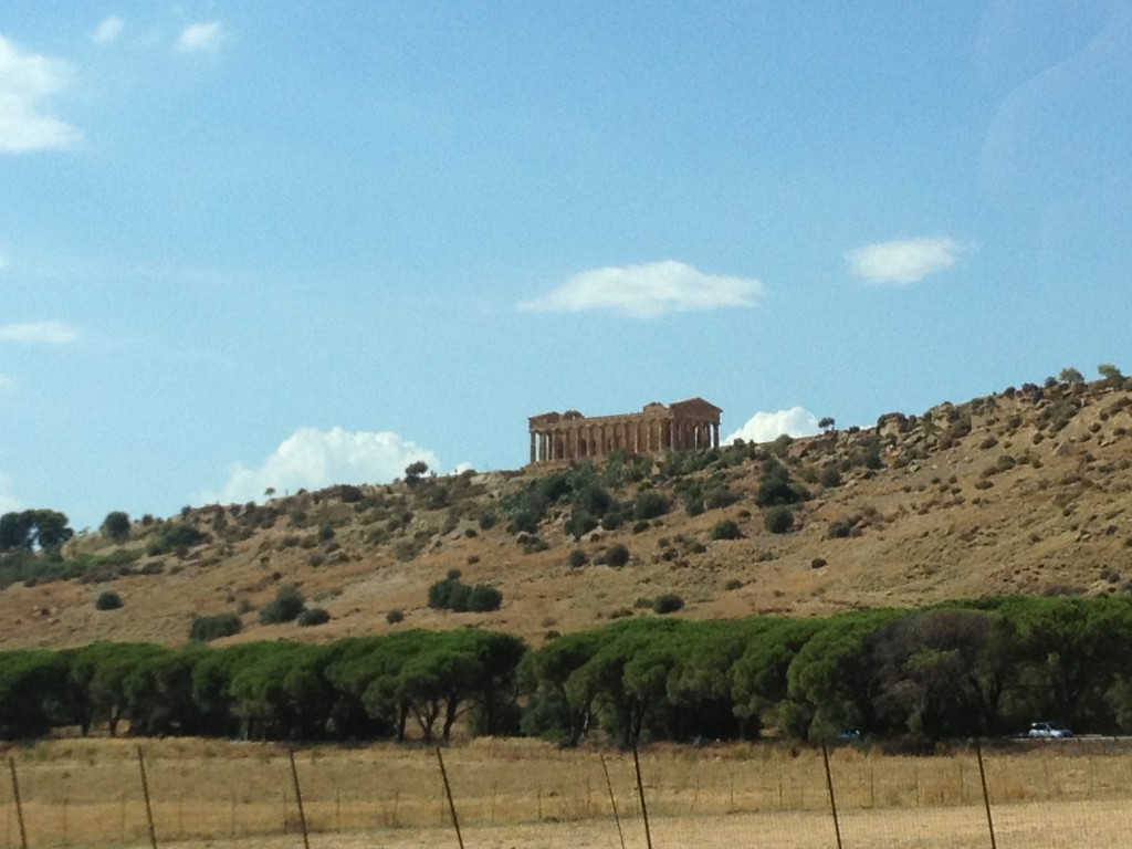Traveling Sicily - Valley of the Temples in Agrigento - From the Road