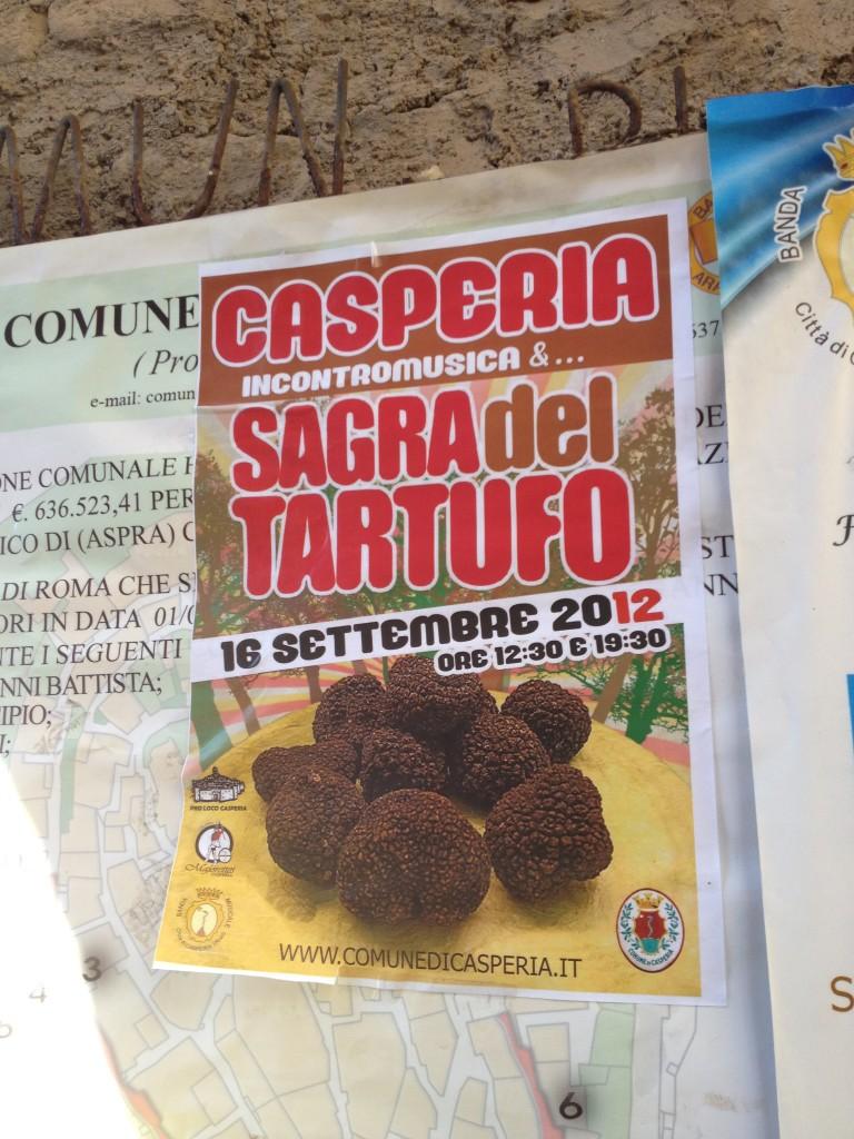 Casperia: Sagra del Tartufo