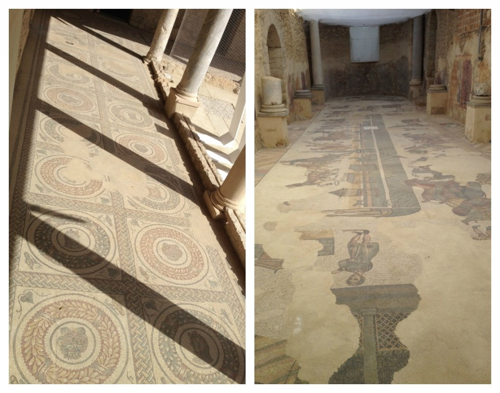 Traveling in Sicily - Piazza Armerina - Mosaic floors