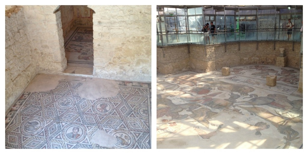 Traveling in Sicily - Piazza Armerina - Rooms with mosaic floors