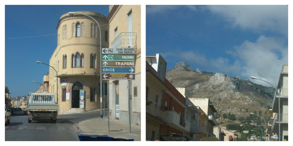 Traveling through Sicily - On the way to Erice