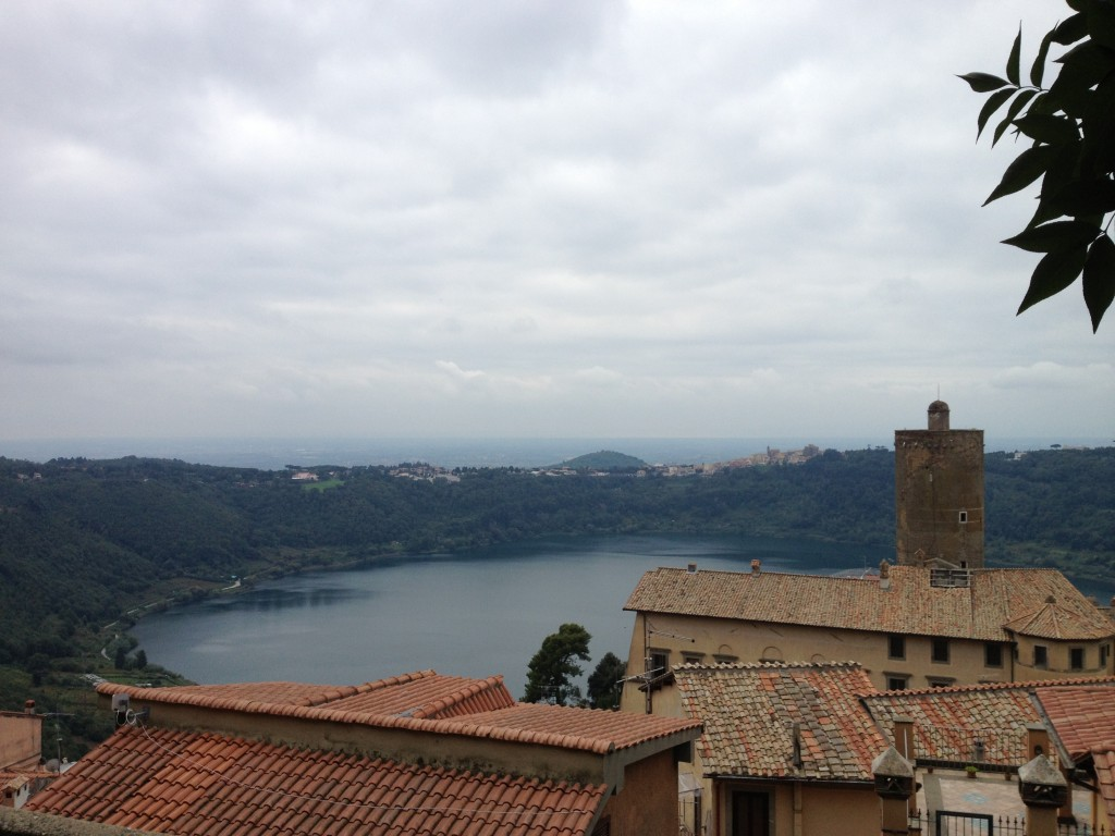 Day trip from Rome: Gorgeous view of Lake Nemi