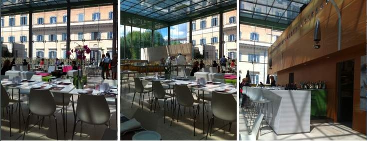 Open Places to Eat in Rome - Open Colonna - Space