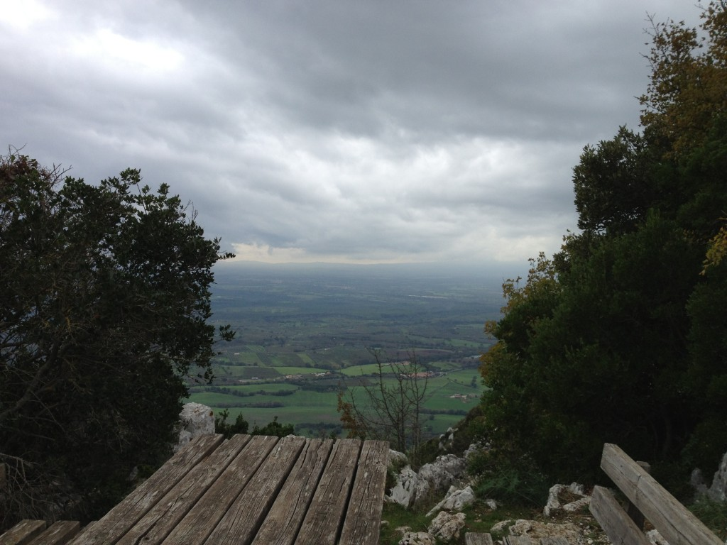 Day trip from Rome: Monte Soratte - View from Lunch