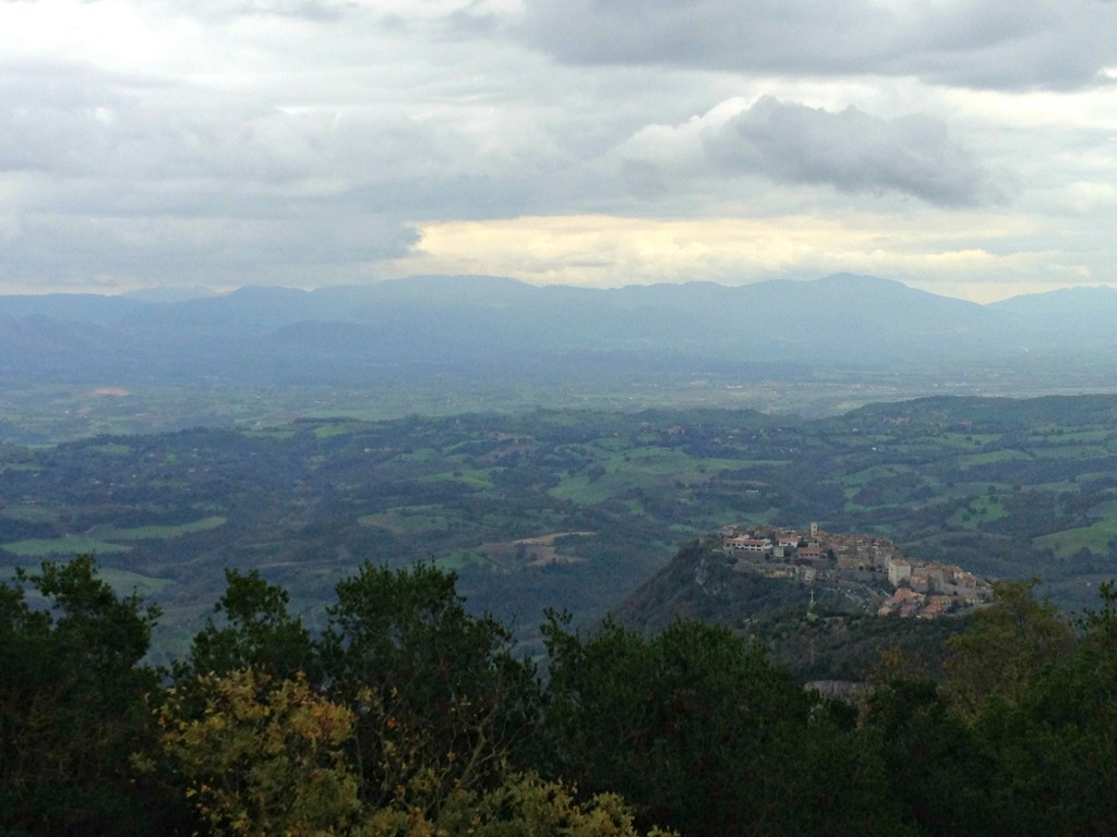 Day trip from Rome: Monte Soratte - View of the town Sant' Oreste