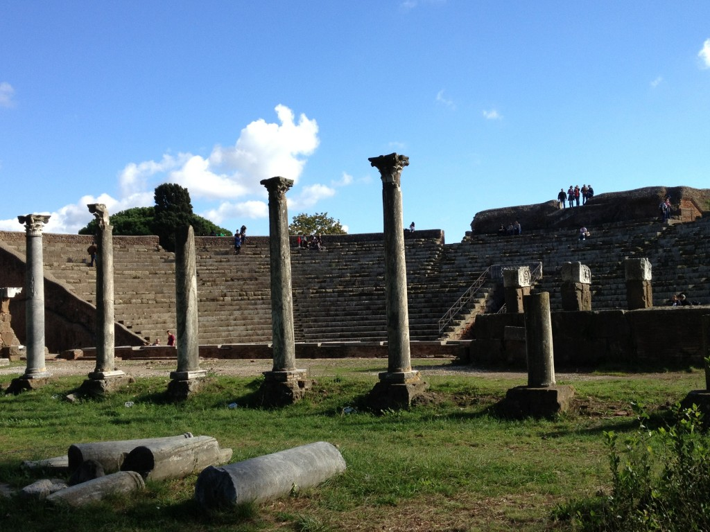 Ostia Antica - Theater - Featured