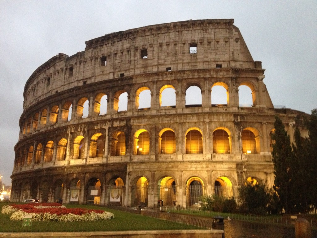 Colosseum: Rome, Italy