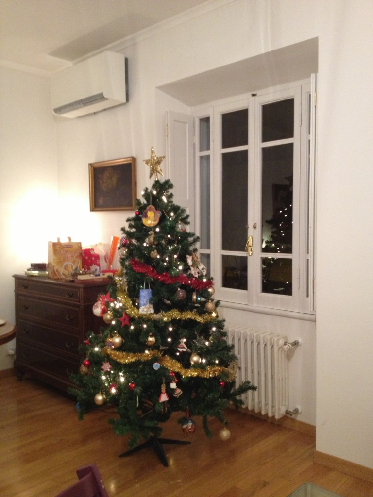 Christmas in Italy - Dinner on the eve at home