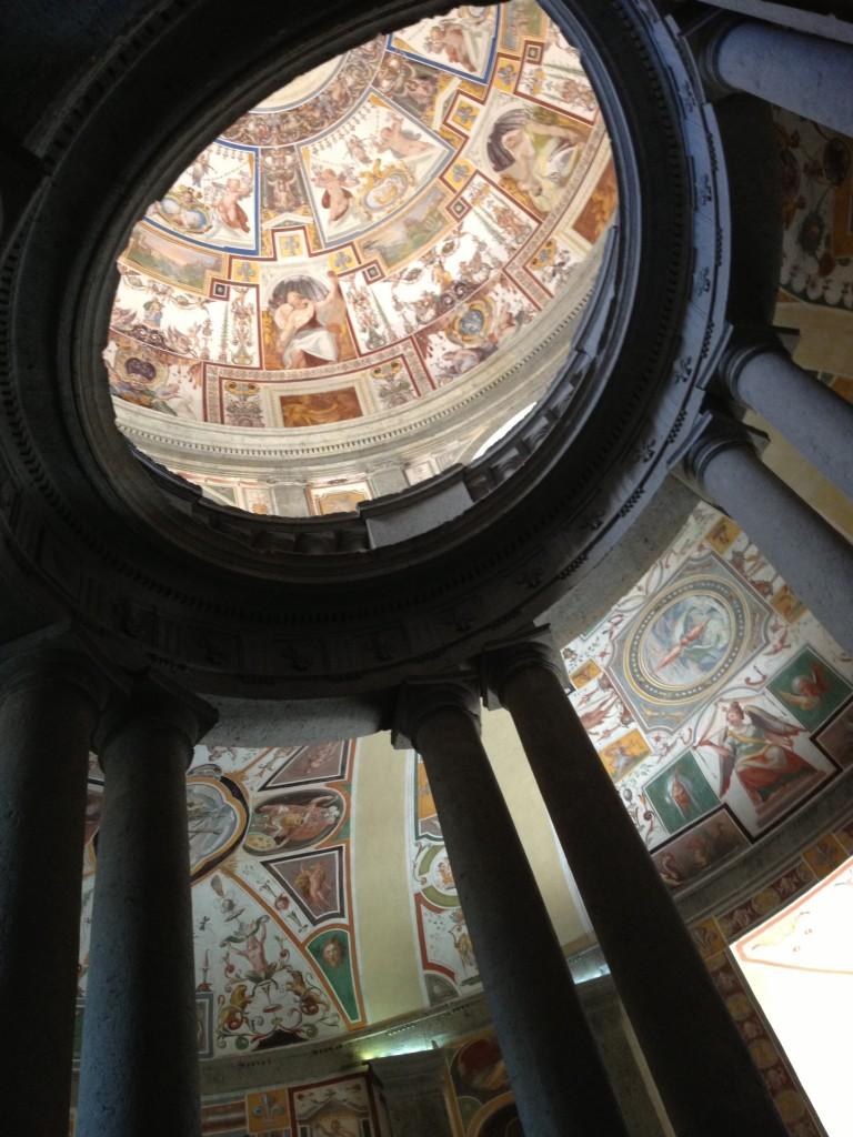 Hidden gems in Lazio: Scala Regia in Palazzo Farnese Caprarola - Frescoes