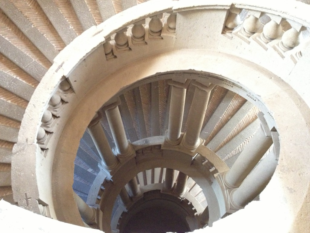 Hidden gems in Lazio - Scala Regia in Palazzo Farnese Caprarola