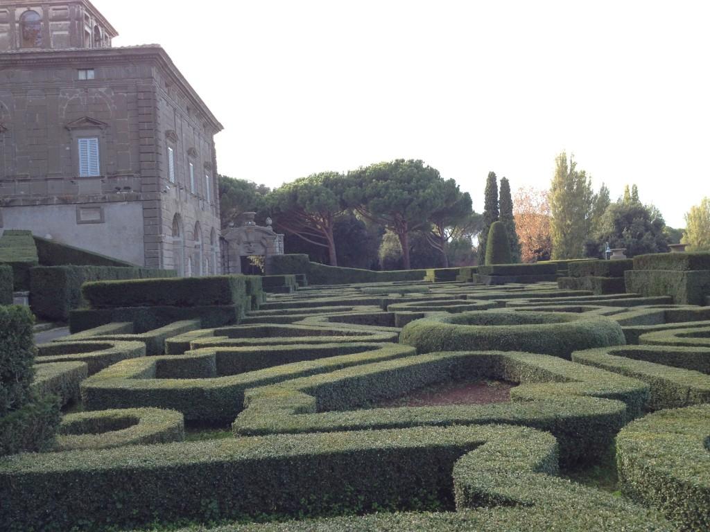 Hidden gems in Lazio - Villa Lante in Bagnaia - Italian Garden