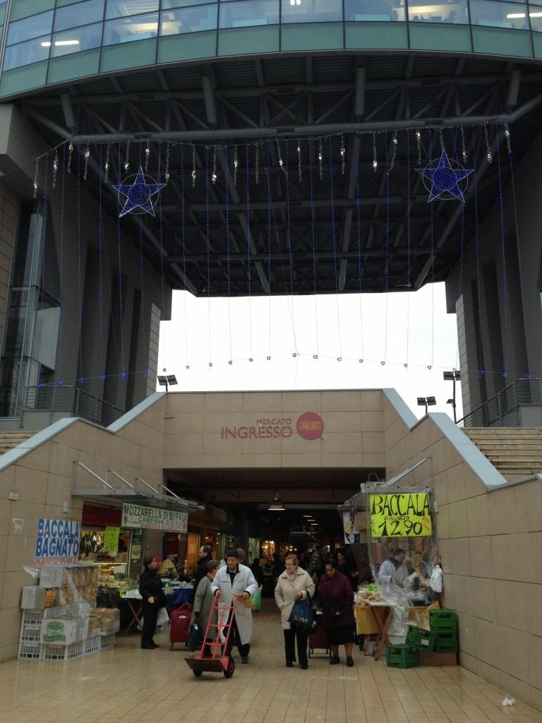 Ingresso - Trionfale Market - Rome Food Tour with Tavole Romane