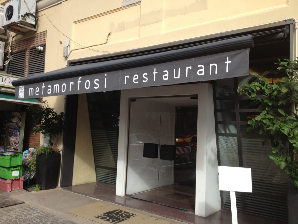 Places to Eat in Rome - Metamorfosi