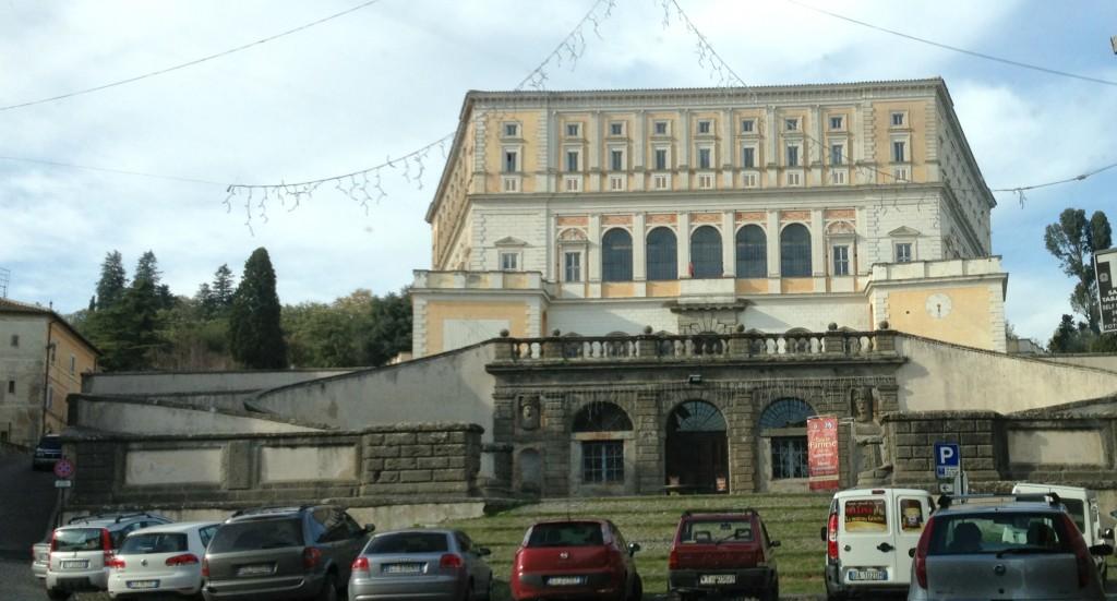 Hidden gems in Lazio - Palazzo Farnese in Caprarola