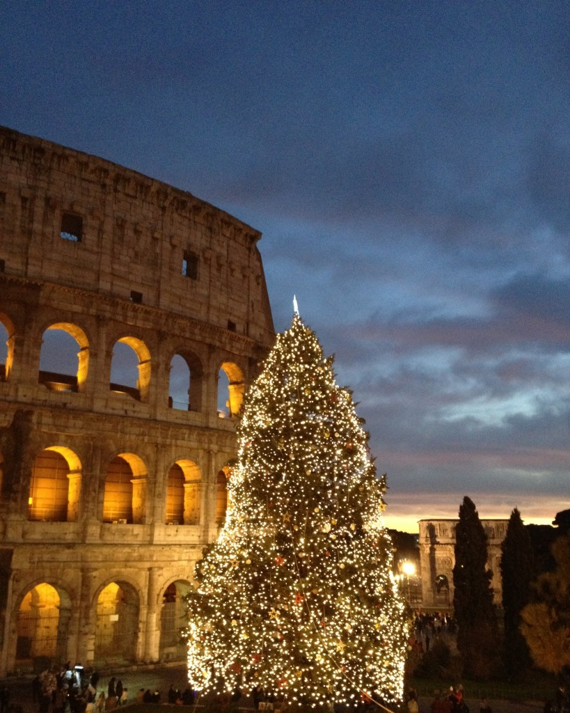 Christmas in Rome - Colosseum