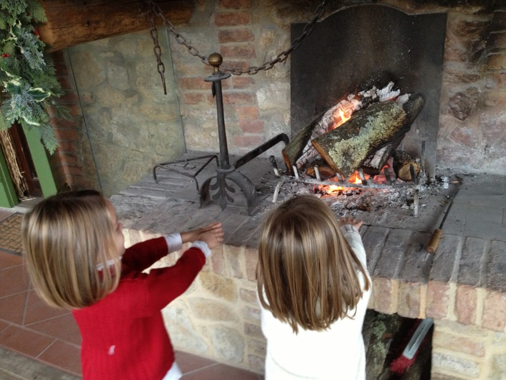 Kids in Tuscany