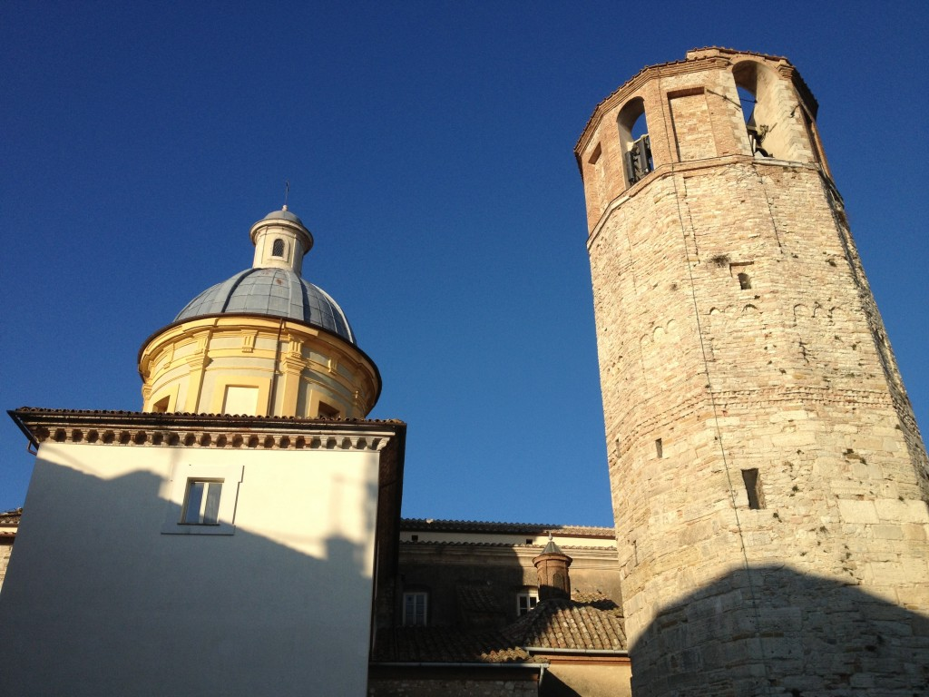 Amelia, Umbria - Cathedral and Civic Tower
