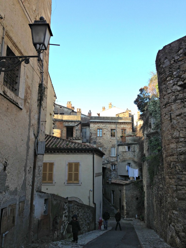 Walk through the town of Amelia, Umbria
