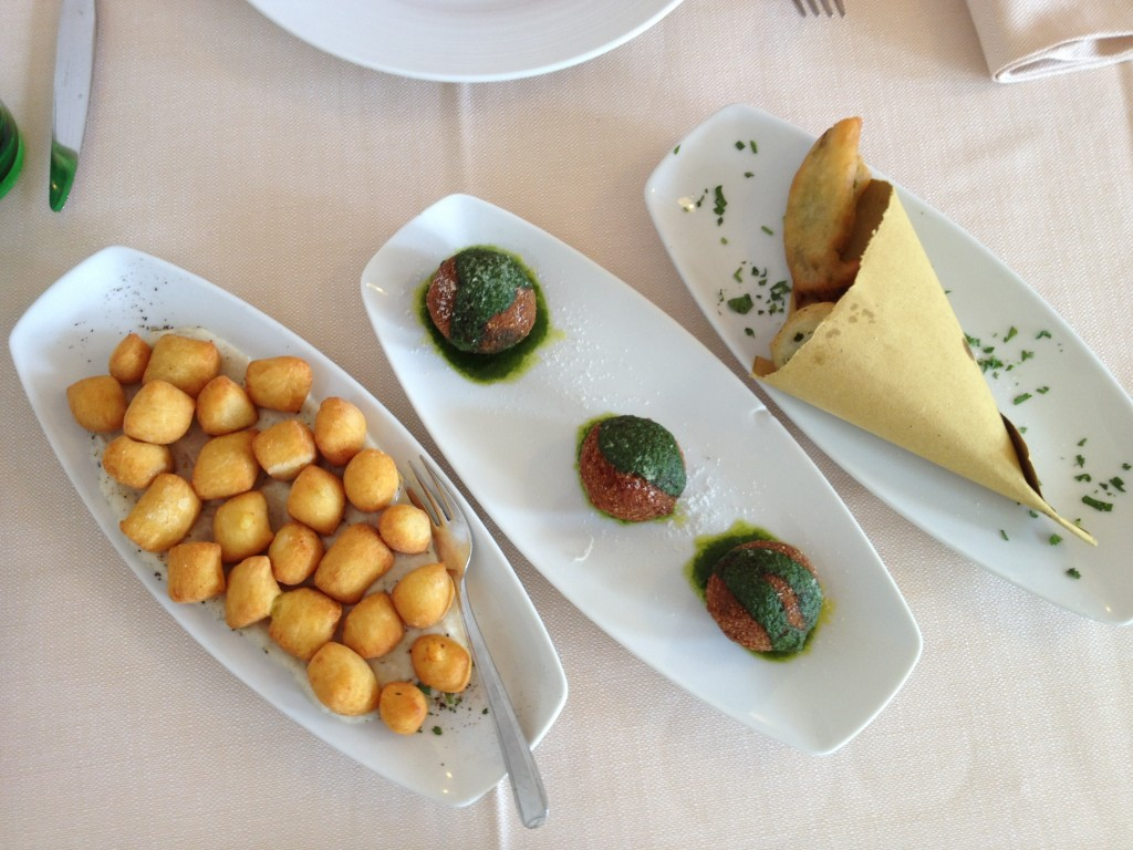 Places to eat in Rome - Da Cesare - Appetizers