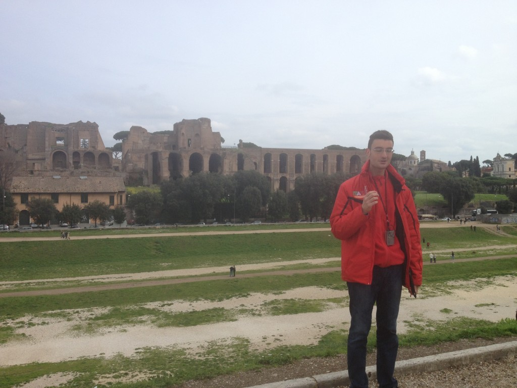 rome tour guide fabio