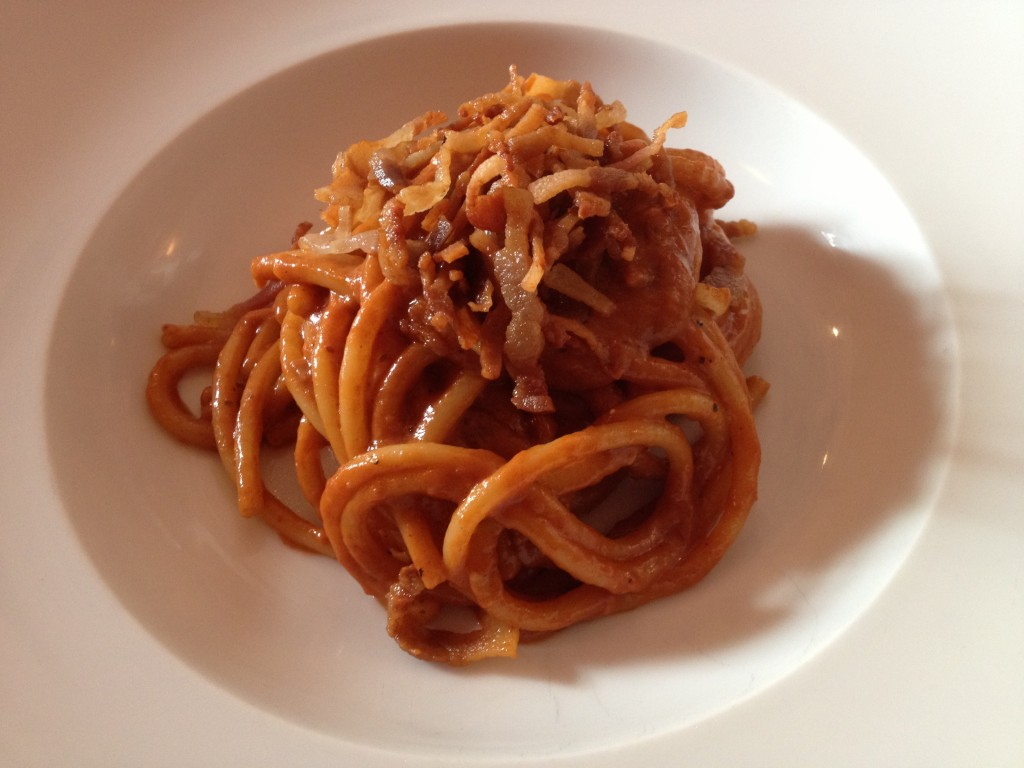 Places to eat in Rome: Osteria Fernanda - Amatriciana