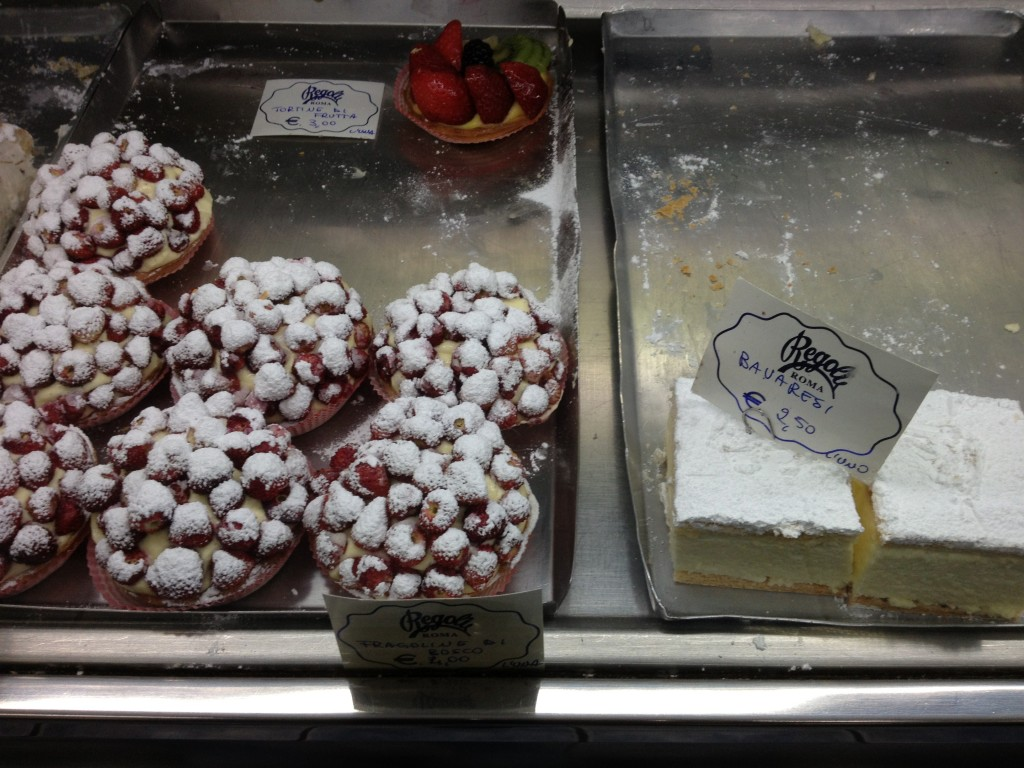 Places to eat in Rome : Regoli Pasticceria