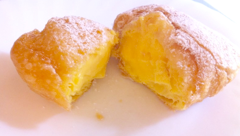 Bigne di San Giuseppe from the pastry shop