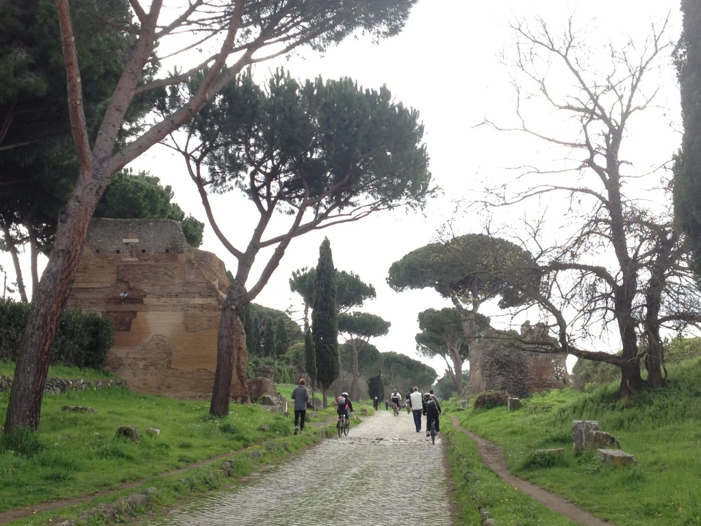 Appian Way Rome - Featured